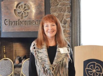 Lynda Huber, Sponsor and new board officer