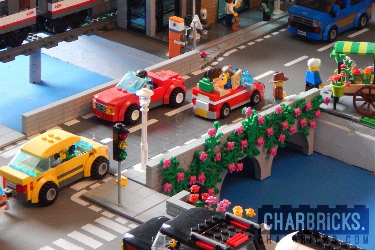 Custom MOC Lego Bridge by CharBricks charlotteslego