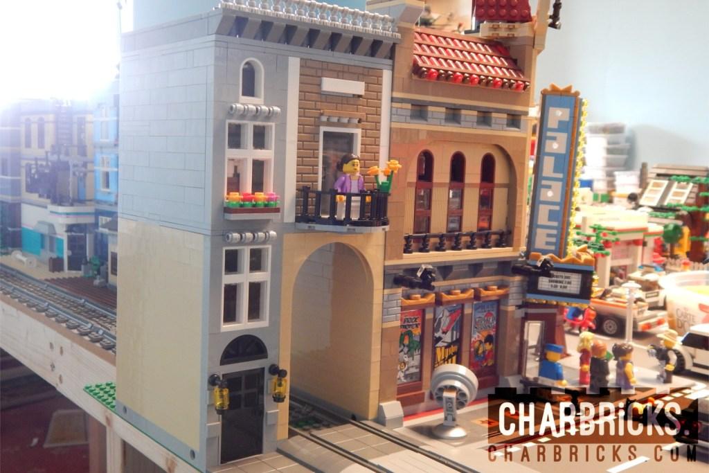 Custom MOC Lego Modular by CharBricks charlotteslego
