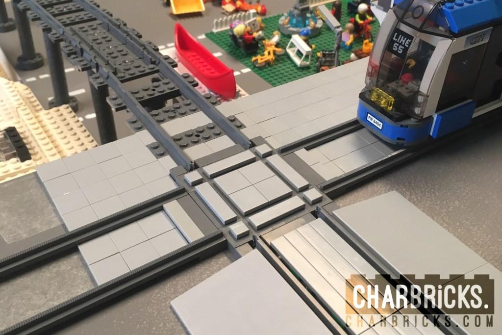 Custom MOC Lego Train Crossing by CharBricks charlotteslego