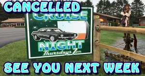 CANCELLED - Cruise Night Washout