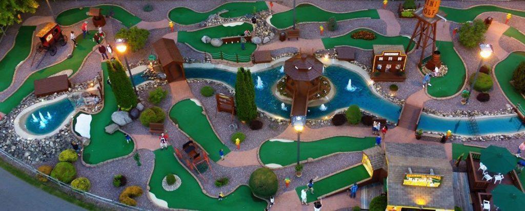 Mini-Golf - Charcoal Corral 18 Hole Championship Mini-Golf
