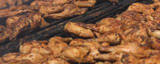 Outdoor Chicken BBQ