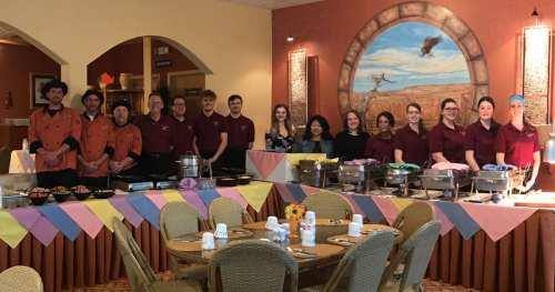 Breakfast Buffet Crew 2019