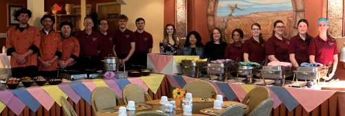 Corral Breakfast Buffet Crew