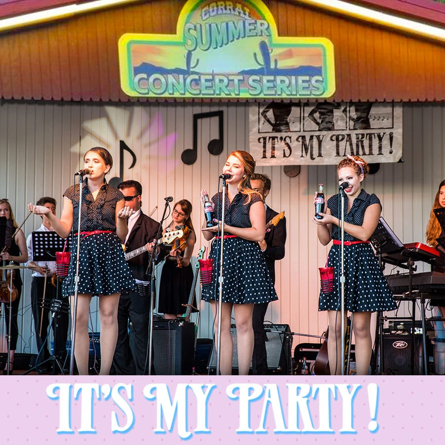 It's My Party (All girl classic oldies)