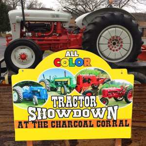 All Color Tractor Showdown at the Charcoal Corral