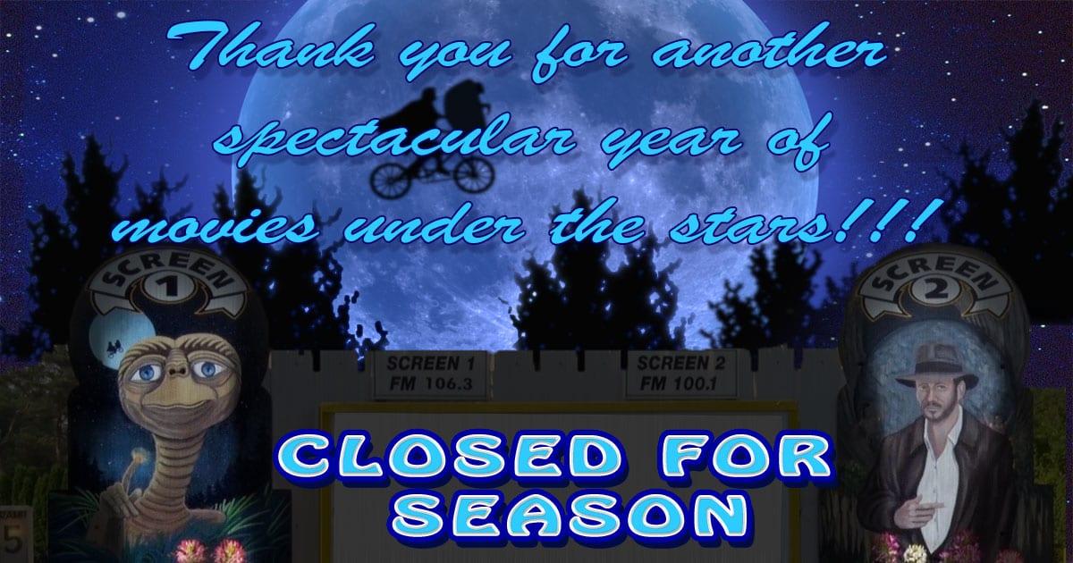Closed For Season