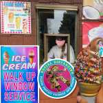 Ice Cream - Walk Up Window Service - Social Distancing