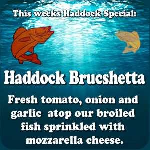 Haddock Brucshetta