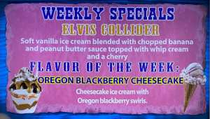 Elvis Collider Special - w - Oregon Blackberry Cheesecake
