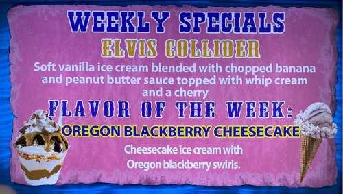Elvis Collider Special - w - Oregon Blackberry Cheesecake