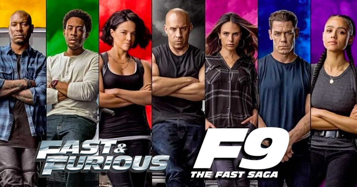 F9 Fast Saga - Fast & Furious