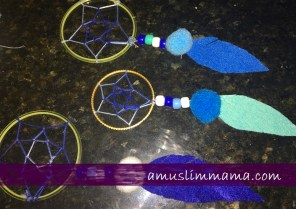 woven Crescent wall hanging as ramadan craft (8)
