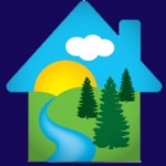 CH logo blue background