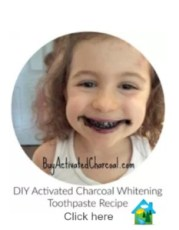 DIY an activated charcoal toothpaste oil pulling teeth whitening 233x300 - Amazing results Brushing Teeth with Activated Charcoal Powder