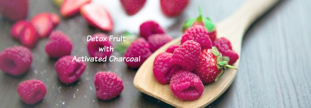 blog Detox Fruit with Activated Charcoal - Charcoal Green® for Gardens, Flowers, Crops, Soil
