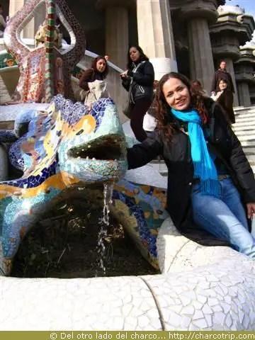 """Foto con el """"dragoncito"""""""