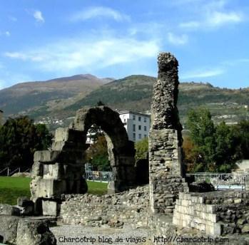 Foro Romano de Aosta