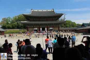 Plaza Injeongjeon en Changdeokgung