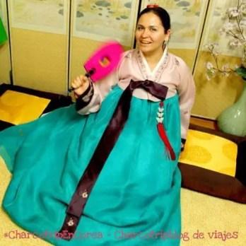 Fue divertido usar el traje tradicional, ademas tenían los colores que me gustaban!