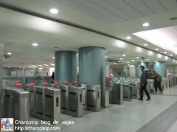 El eficiente Metro de Turin