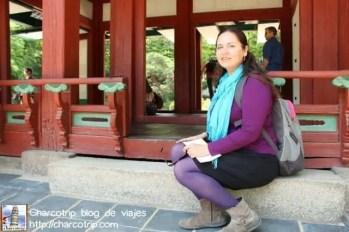 En uno de los breaks del tour del huwon