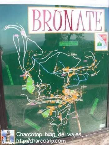 Mapa de Brunate