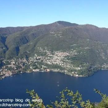 Vista del Lago de Como