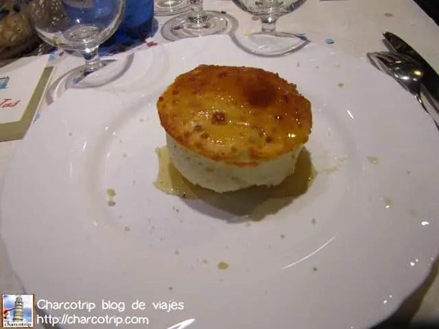 Souffle di Castelmagno yummi