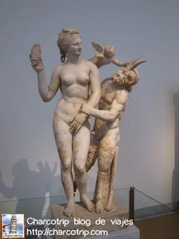 Afrodita resistiendo a Pan