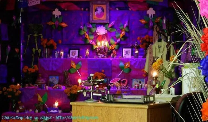 Altar de la Maestra Escamilla
