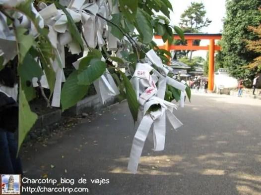 El árbol lleno de papeles