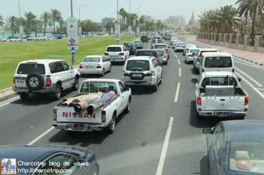 Trafico en Doha