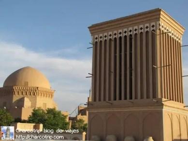 El gran badgir del Fahadan