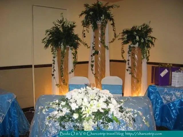 La mesa de honor / The honor table / La table d'honneur