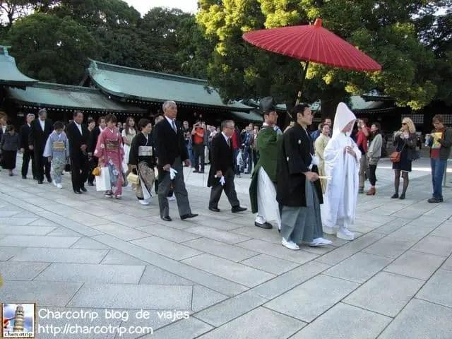 Una procesión de boda!