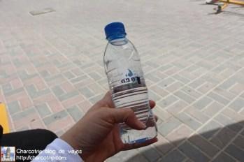 Una botella de agua, haría falta