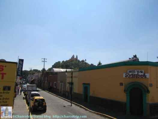 calle-iglesia-cholula