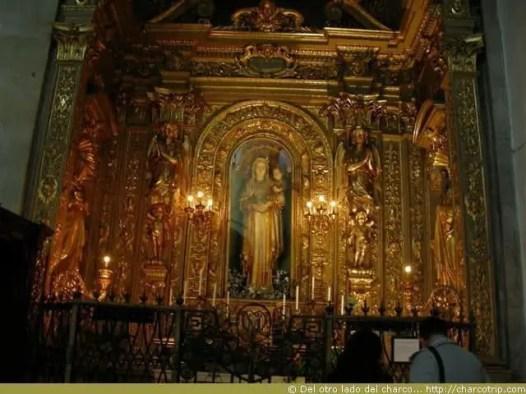 Interior de la catedral