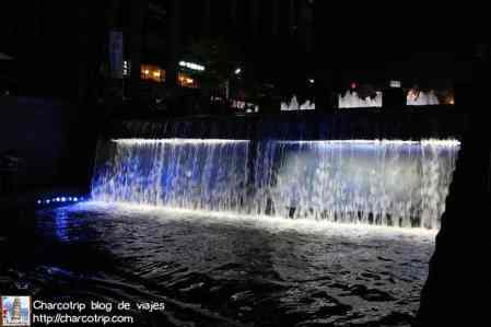 cheonggyecheon-cascada