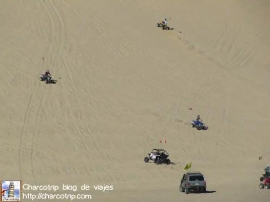 Las dunas a todo lo que da