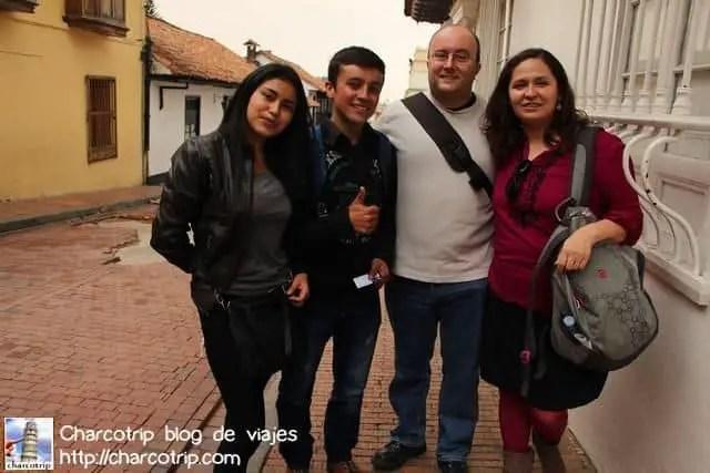 Nuestros entrevistadores en ingles!