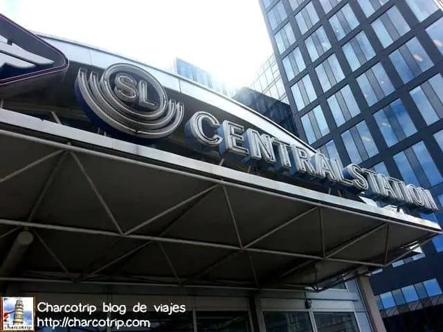 La estación central