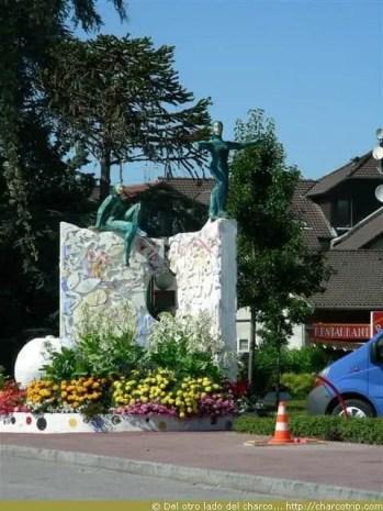 estatua gimnastica