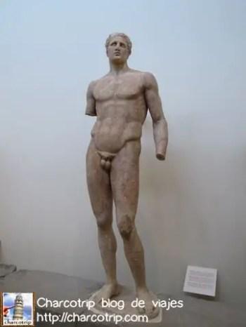 Estatua sin brazo