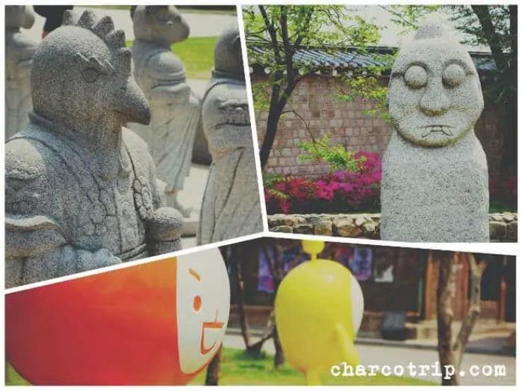 estatuas2-Gyeongbokgung
