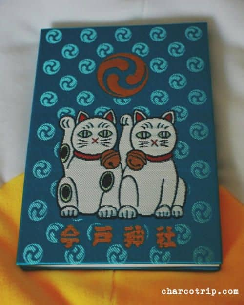 Gatos con fondo azul (también había rosa)