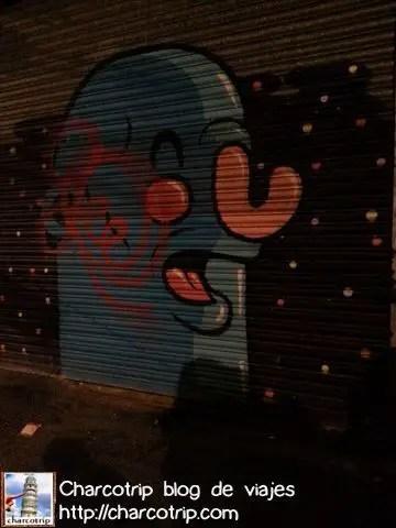 Grafiti de la zona