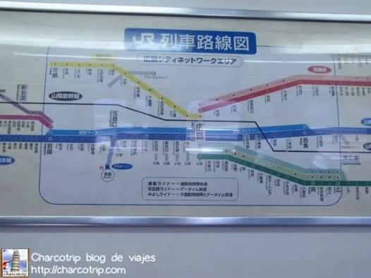 Mapa de trenes